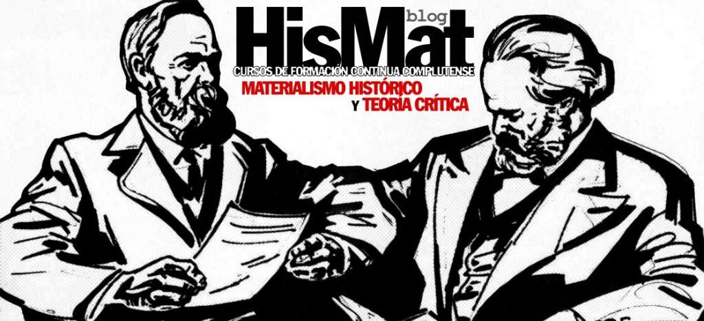 Cursos Materialismo Histórico y Teoría Crítica