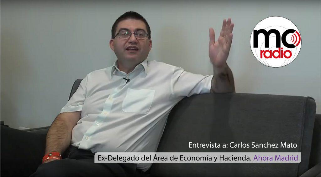 Entrevista Carlos Sánchez Mato
