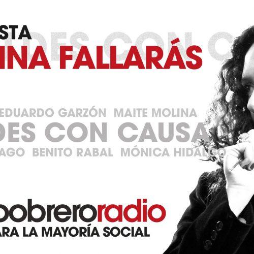 Rebeldes Con Causa 15. Entrevista a Cristina Fallarás