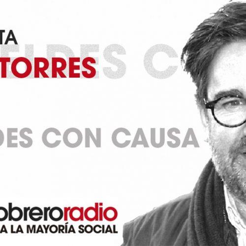 Rebeldes Con Causa 14. Entrevista a Juan Torres