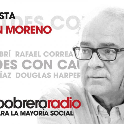 Rebeldes Con Causa 17. Entrevista a Agustín Moreno