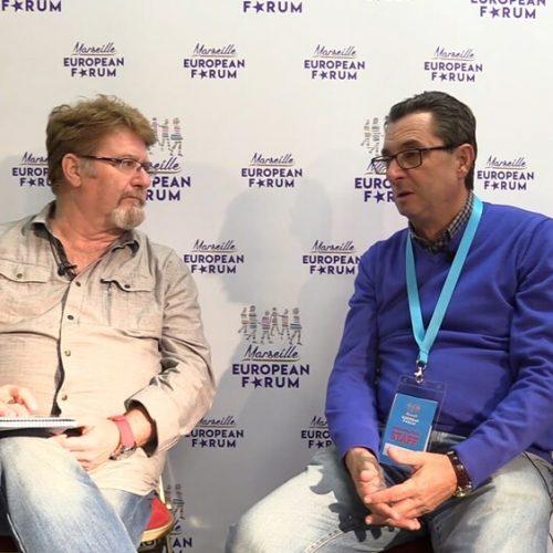 Entrevista a José Luis Centella en el Foro de Marsella