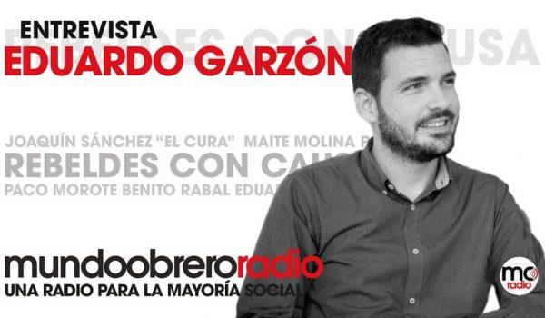 Rebeldes con causa 25. Entrevista a Eduardo Garzón