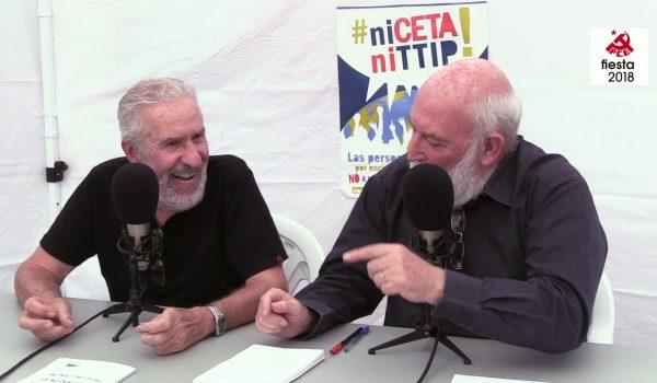 Entrevista a ATILIO BORÓN en la Fiesta del PCE 2018