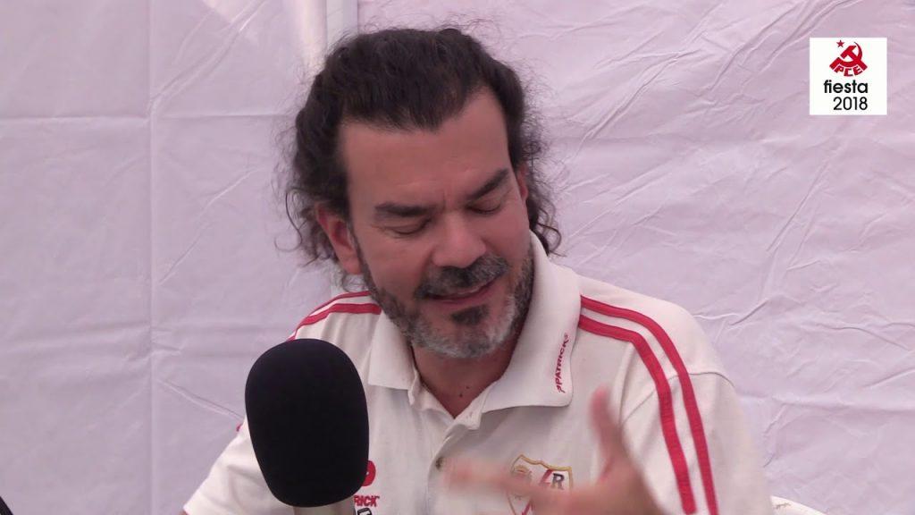 Entrevista a Eddy Sanchez Director de la FIM en la Fiesta del PCE 2018