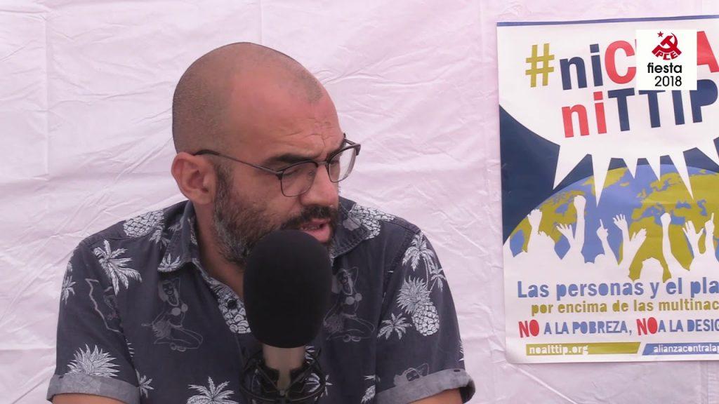 Entrevista a José Manuel Mariscal Director de Mundo Obrero en la Fiesta PCE 2018