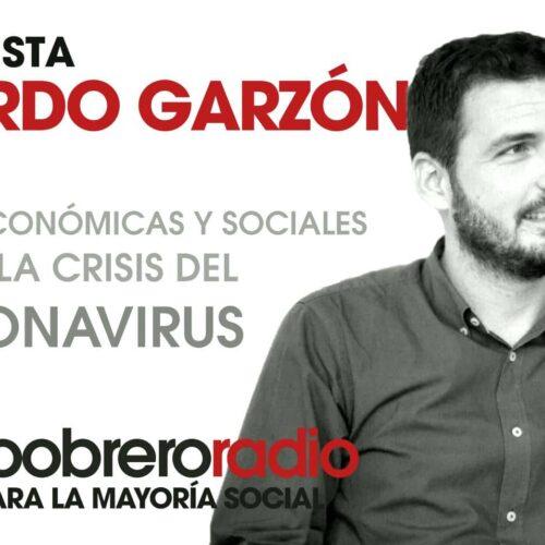 Entrevista Eduardo Garzón: valoración medidas sociales y económicas