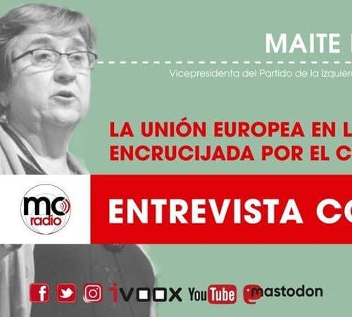 Entrevista a Maite Mola, vicepresidenta del PIE
