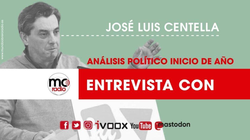 Entrevista José Luis Centella 2021