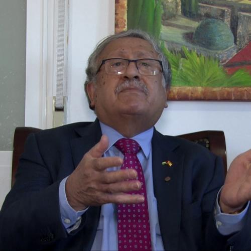 ¡¡EXCLUSIVA!! Entrevista al embajador de Palestina en España Musa Amer
