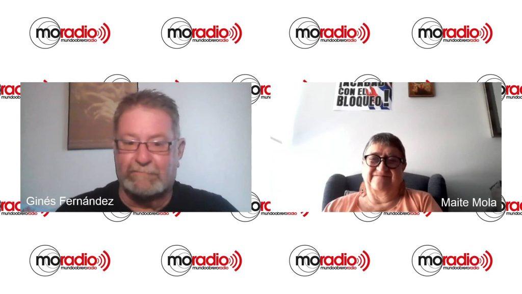 Entrevista con Maite Mola. Cuba responde a la injerencia Yanki